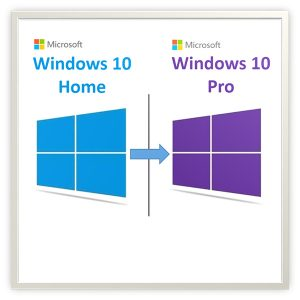 windows 10 home pro yükseltme