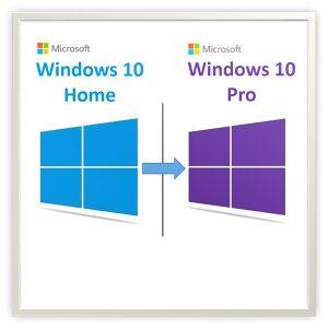 windows 10 home pro yükseltme