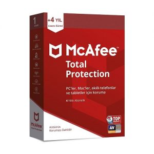 mcafee total protection satın al